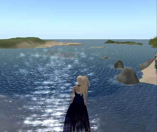 セカンドライフの海の画像