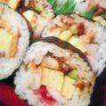 お寿司の出前の海鮮サラダ巻の画像