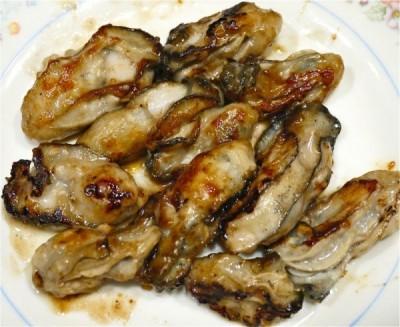 牡蠣のバターソテーの写真