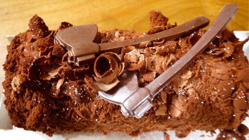 アンリシャルパンティエのクリスマスケーキの画像
