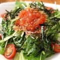 とびっこと水菜のサラダの画像