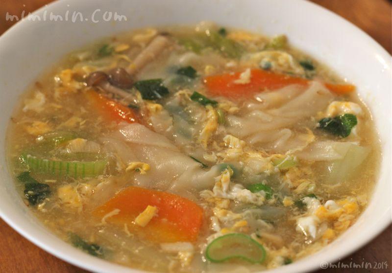 ワンタンスープのレシピ