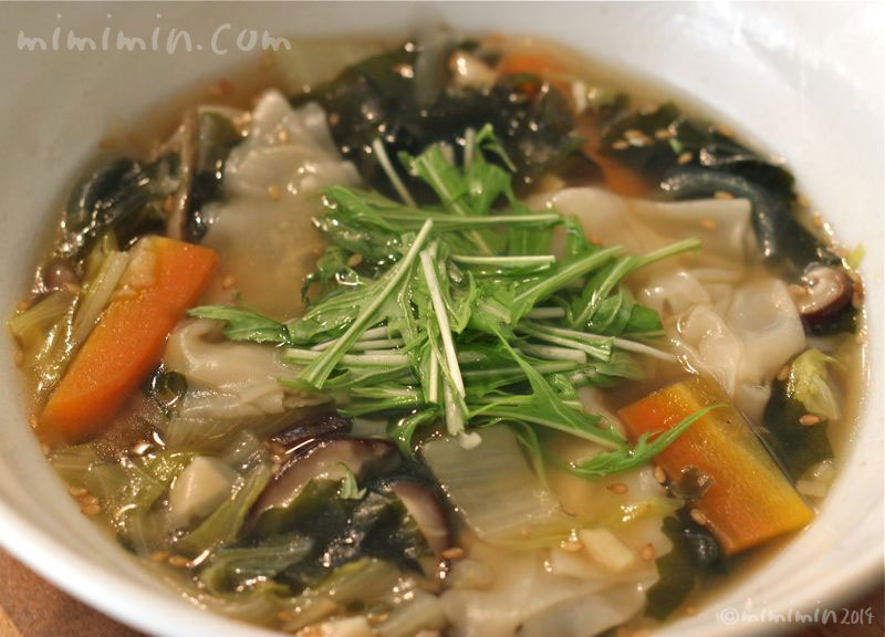 ワンタンスープの写真