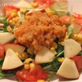 にんじん&りんごドレッシングのサラダの画像