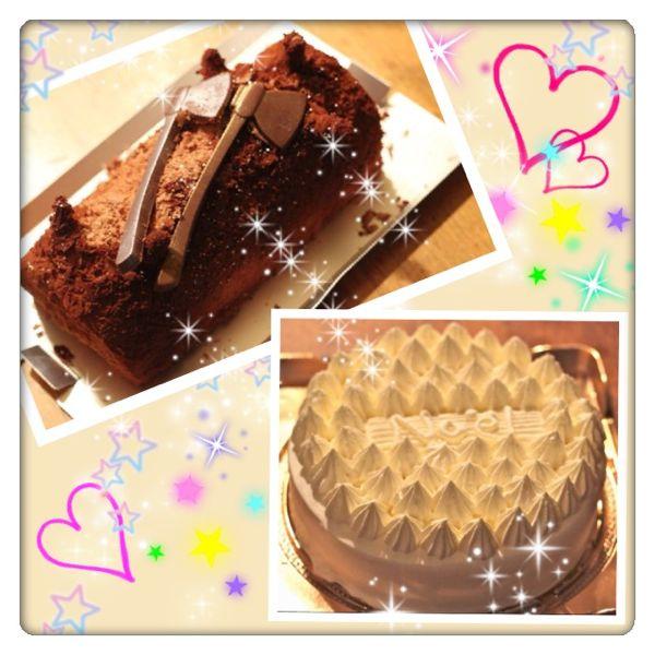 アンリ・シャルパンティエのクリスマスケーキの画像