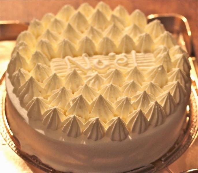クリスマスケーキのフォレ・ブランシェの画像の画像