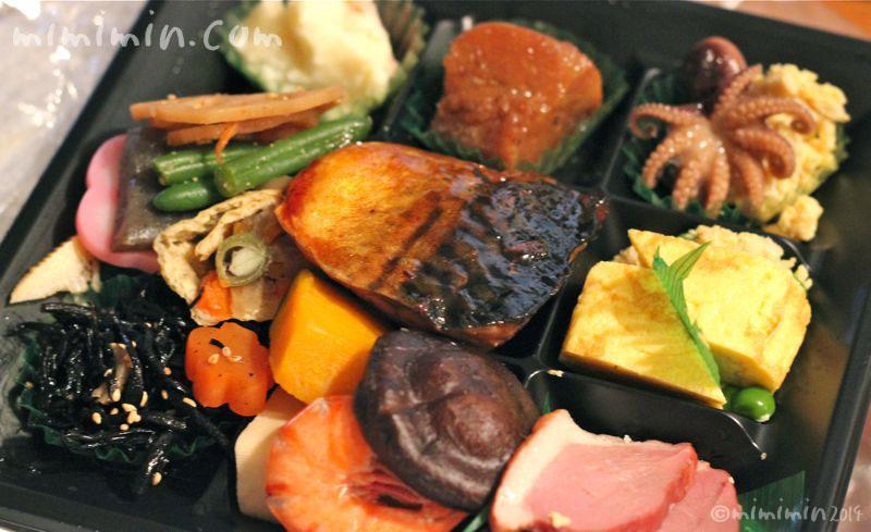 お惣菜の盛り合わせの写真