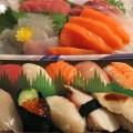 寿司と刺身の画像
