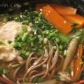 蕎麦(野菜と玉子)の画像