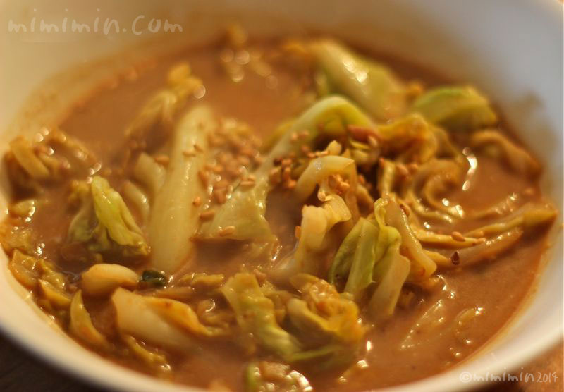 キャベツの担々スープ煮の画像