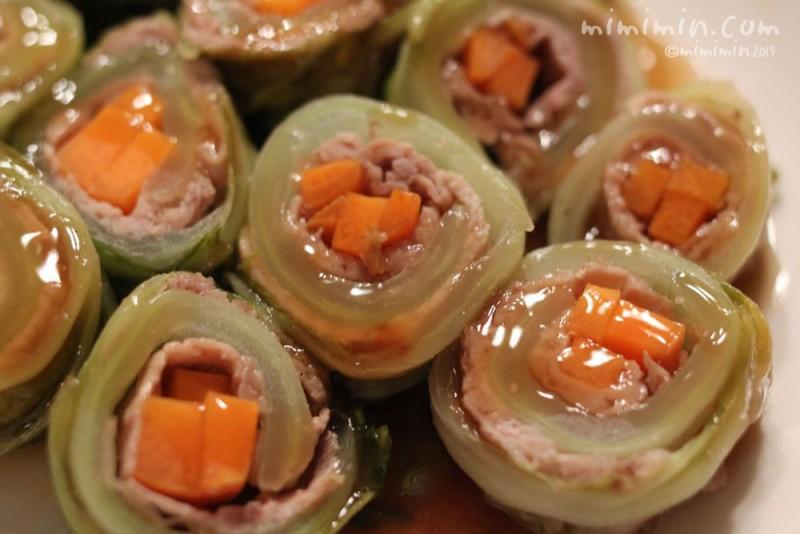 豚肉の白菜ロールの画像
