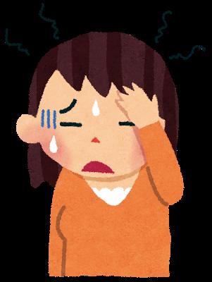 こめかみ痛の画像
