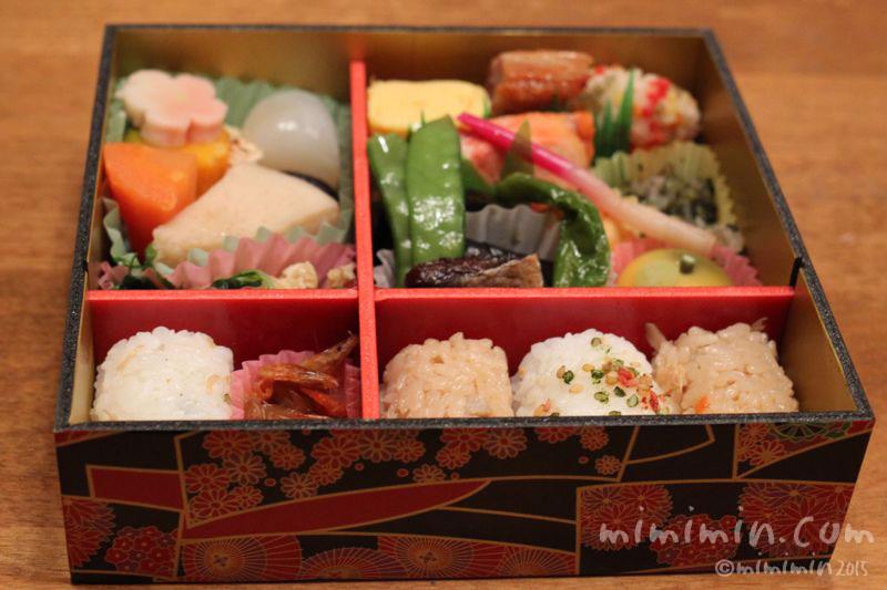 東海道新幹線の駅弁「祇園」お弁当の写真