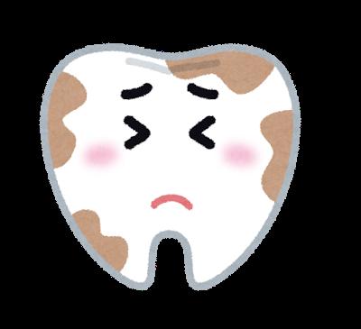 虫歯のイラスト