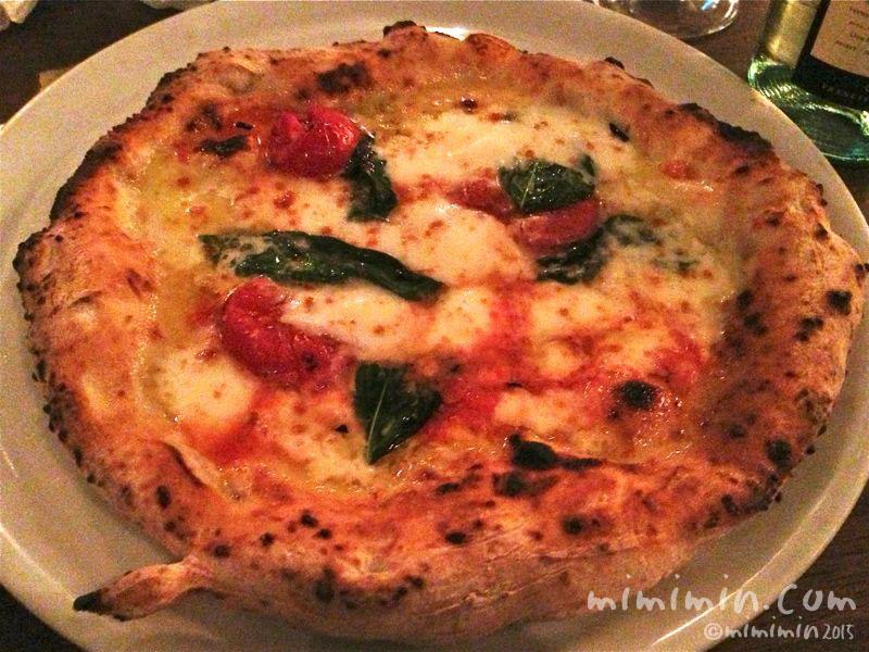 聖林館のピザ(マルゲリータ)