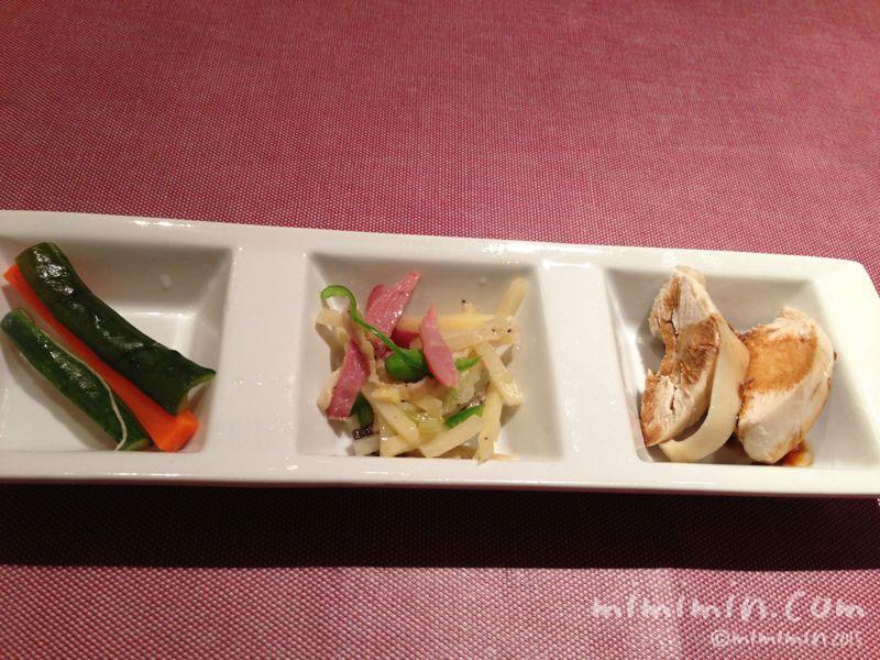 中華料理の前菜の写真