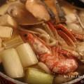 海鮮鍋焼きうどんの写真