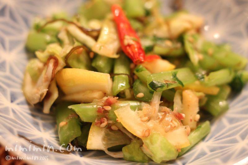 浅漬風サラダの写真