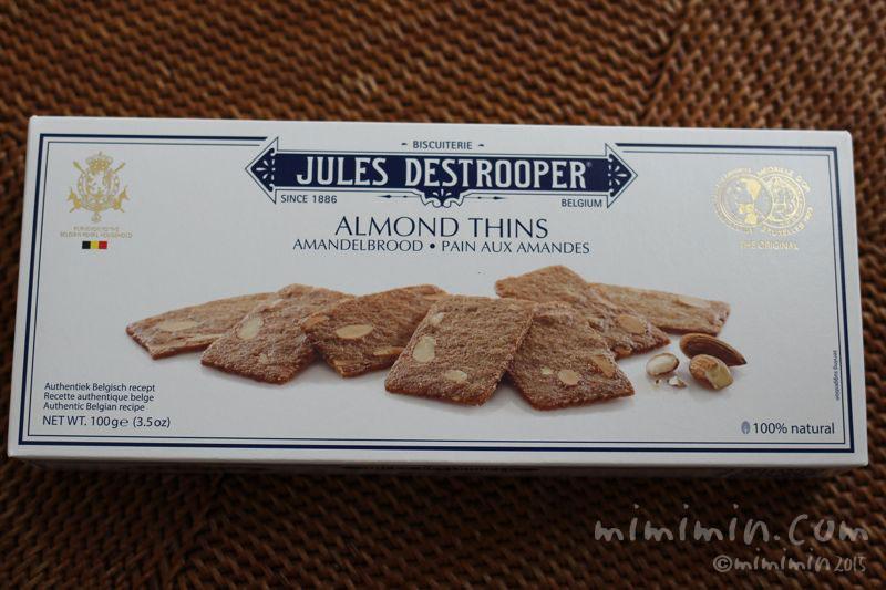 アーモンドシン(クッキー)のパッケージ