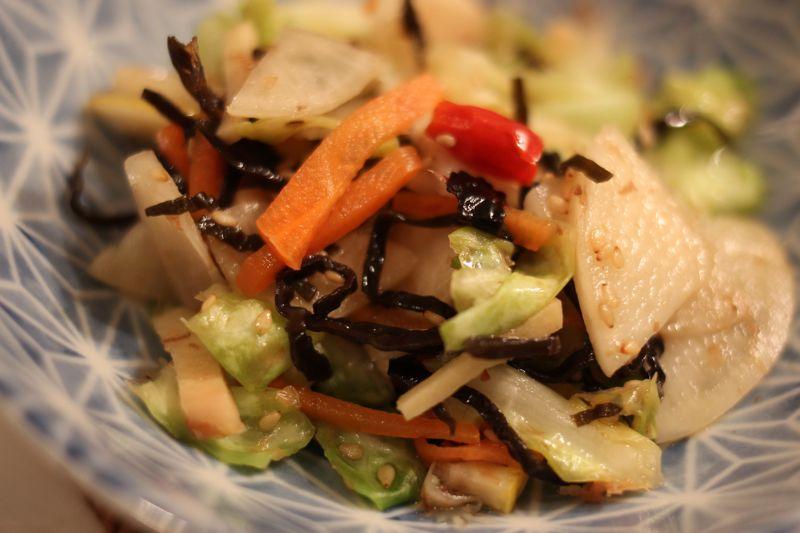 浅漬サラダの写真