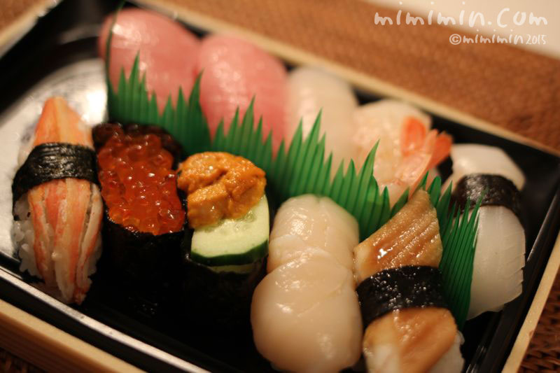 にぎり寿司の写真