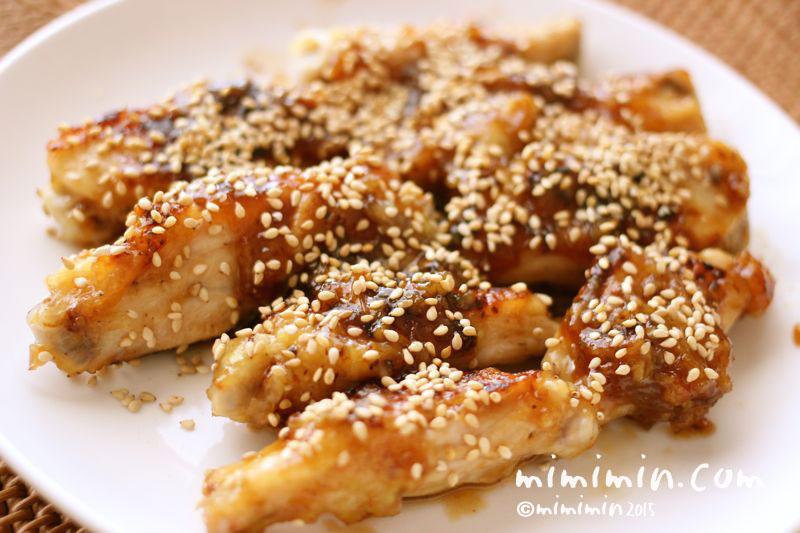 鶏の手羽中の甘酢煮の写真