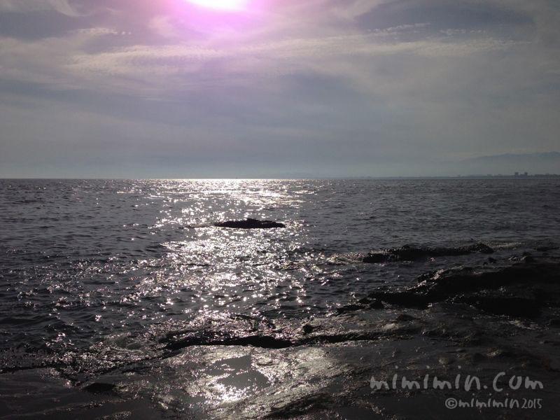 江ノ島の海の写真2