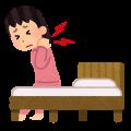 首の痛みと、頚性めまいの写真