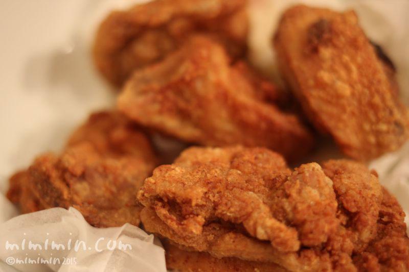鶏の骨付きモモ肉の唐揚げの画像