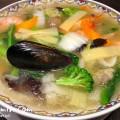 軽井沢アウトレットのレストラン・月季花(中華料理店)の海鮮汁ソバの写真