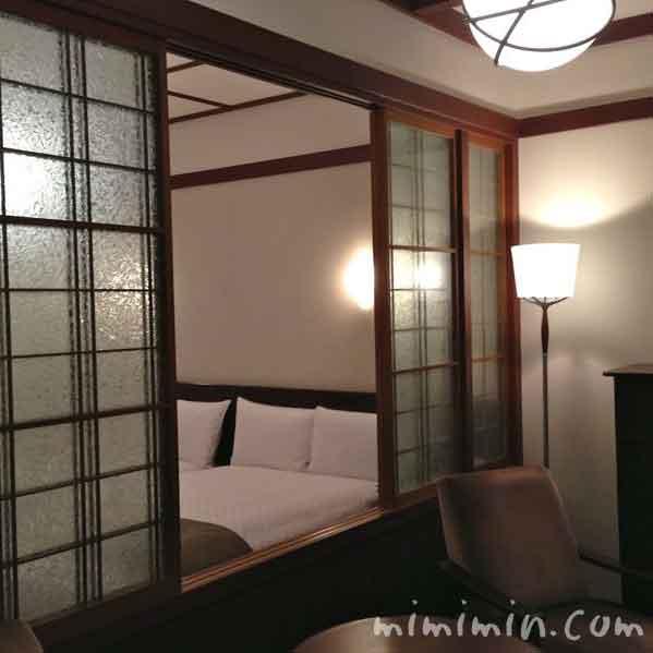 軽井沢万平ホテルの部屋の写真