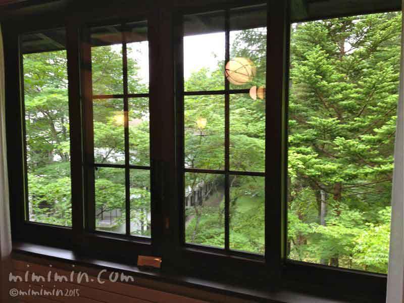 軽井沢万平ホテルのウスイ館のクラシックタイプの部屋の写真