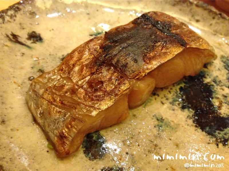 太刀魚の幽庵焼き風・鮨いまむら