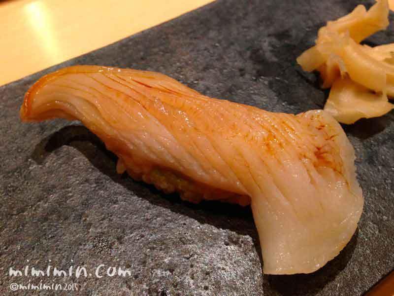 ミル貝の握り・鮨いまむら