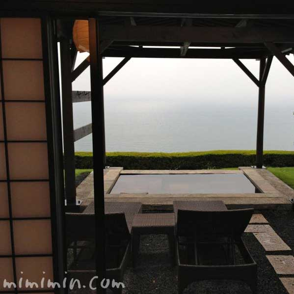 伊東温泉の宿「月のうさぎ」の露天風呂の画像