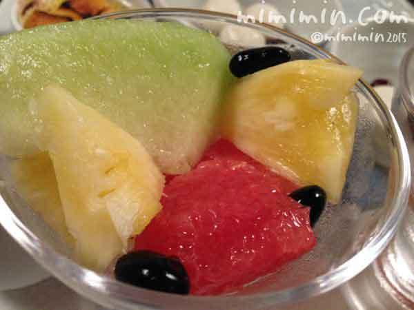 月のうさぎのフルーツの写真