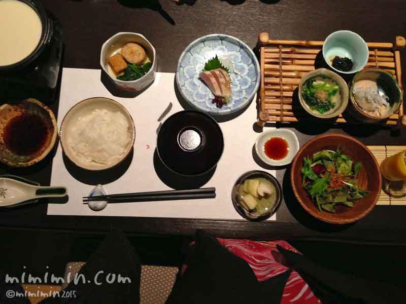 月のうさぎの朝食(伊東温泉)の写真