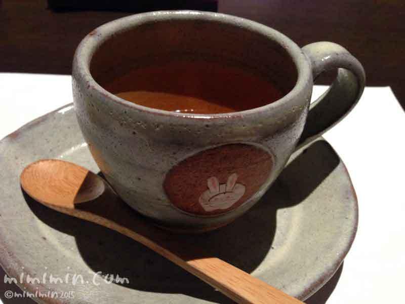 月のうさぎの朝食の紅茶の画像