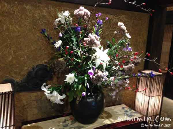 伊東温泉の離れの宿「月のうさぎ」の花の写真