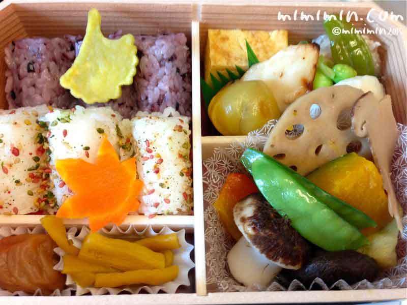 日本の味博覧の秋バージョン(東海道新幹線の駅弁)の写真