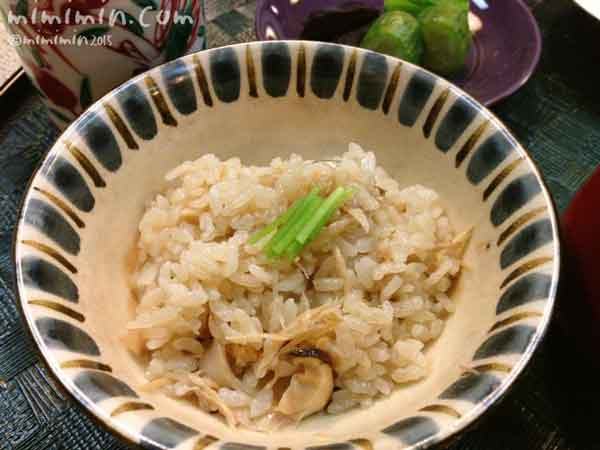 京都嵐山熊彦の松茸ご飯の写真