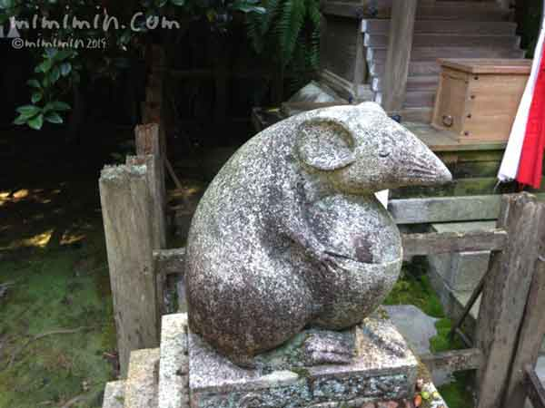 狛鼠の画像