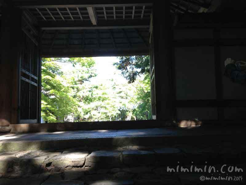 京都 法然院の山門の画像