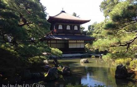 銀閣寺の観音殿の写真
