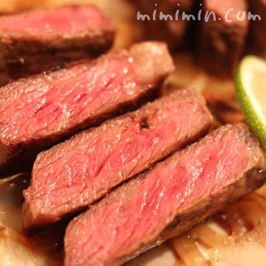 牛サーロインステーキの写真