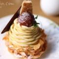 安納芋のモンブランの画像