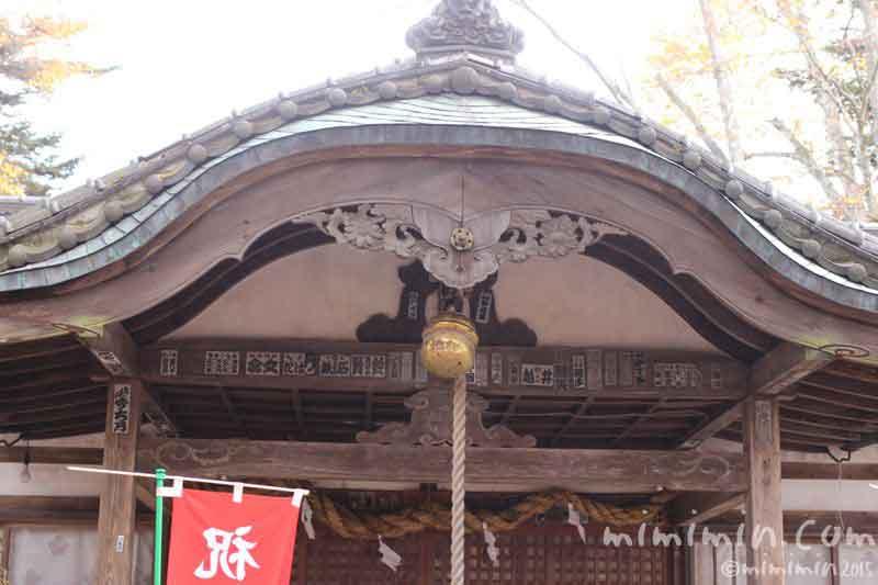 軽井沢の諏訪神社の画像