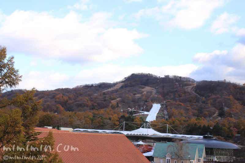 軽井沢プリンスホテルスキー場の写真