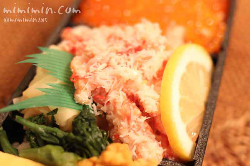 カニのちらし寿司の画像