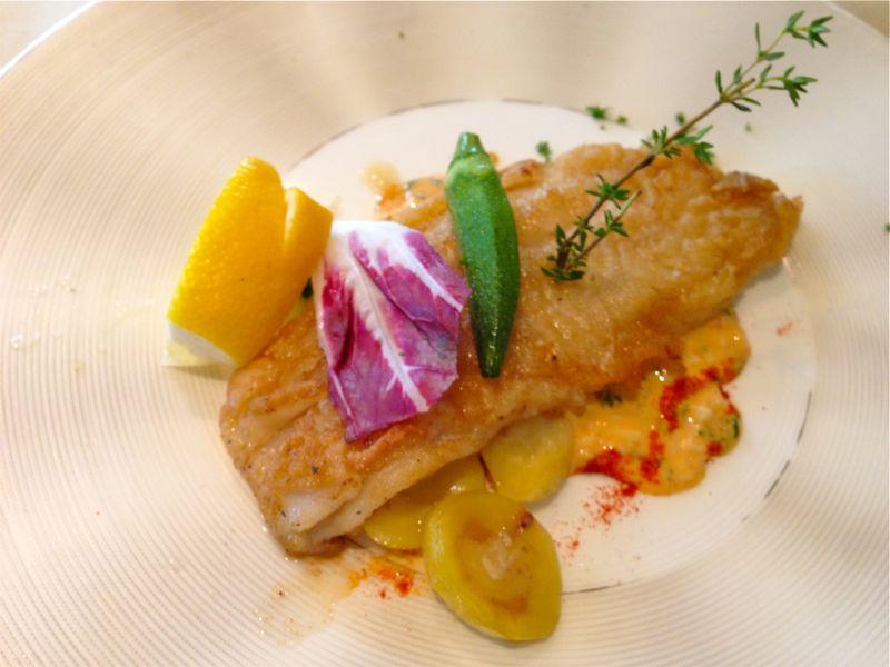 レストラン西本の料理の写真